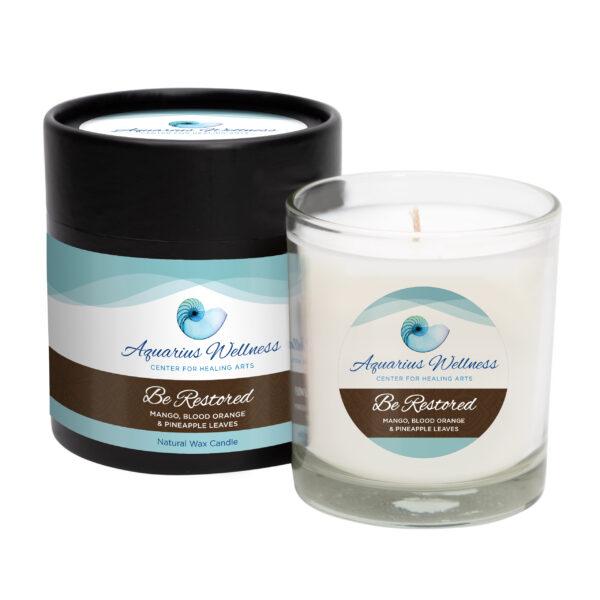 Aquarius Wellness Signature 'Be Restored' Candle