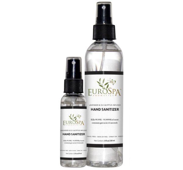 Lavender & Eucalyptus-Infused Spray Hand Sanitizer